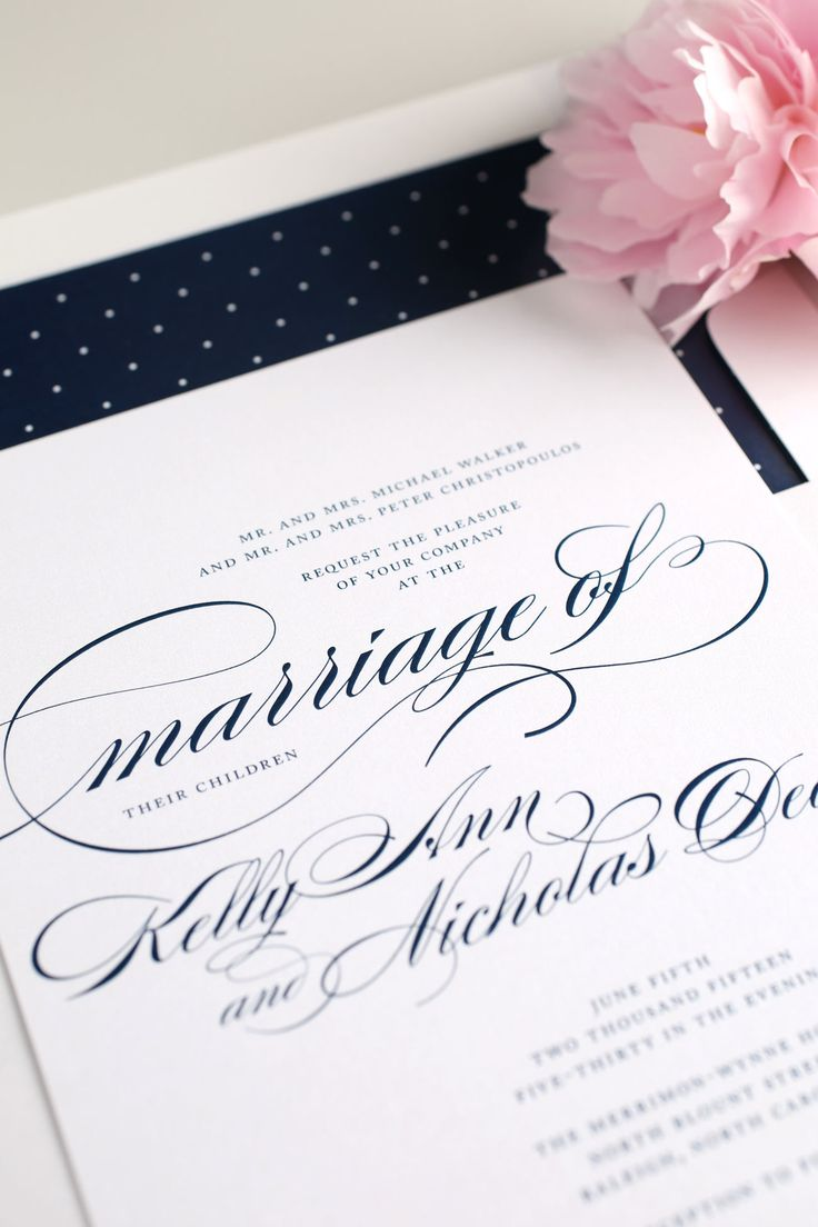 76 Best Classic Inspirational Invitations Images On Pinterest