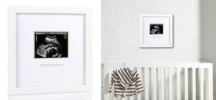 Bilderrahmen für Ultraschall-Bild aus der Kategorie Accessoires & Dekoration von Mamarella - Details