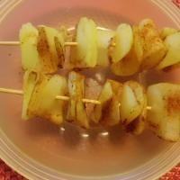 Kartoffelchips nun in die Mikrowelle  geben