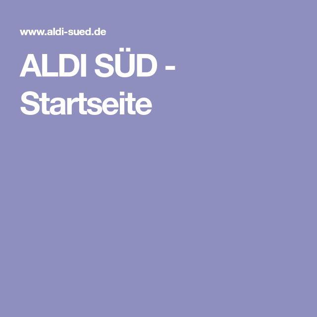 ALDI SÜD - Startseite