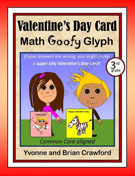 Valentine S Day Math Worksheets For 3rd Grade : Best images about valentine s day on pinterest