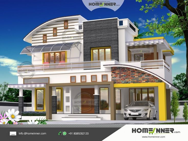 2397 sq ft 4 Bedroom Villa Plans and Elevation