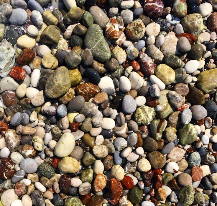 Sten strand