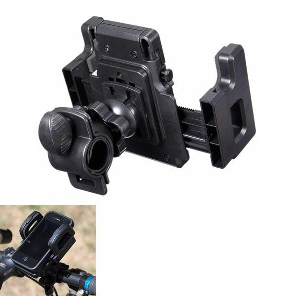 Universal ajustable 50mm-90mm motor Bicicleta de bicicleta Soporte Antiskid Bike PhonE-mount titular