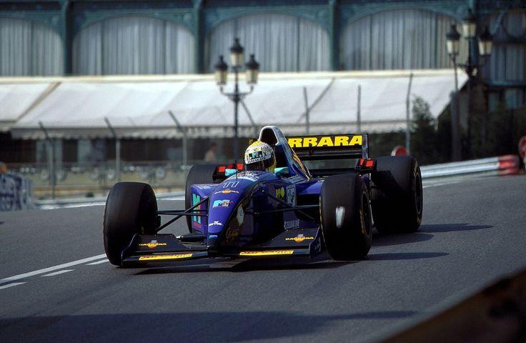 1995 GP Monaco (Domenico Schiattarella) Simtek S951 - Ford