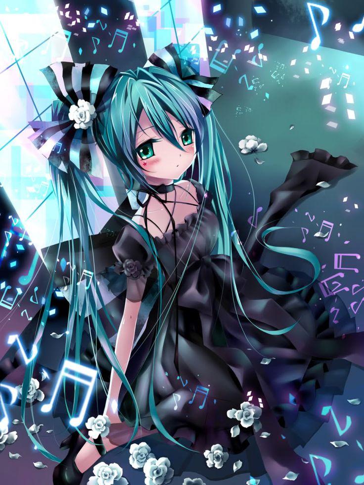 Miku vocaloid Volcaloid Pinterest Anime, Girls and Manga