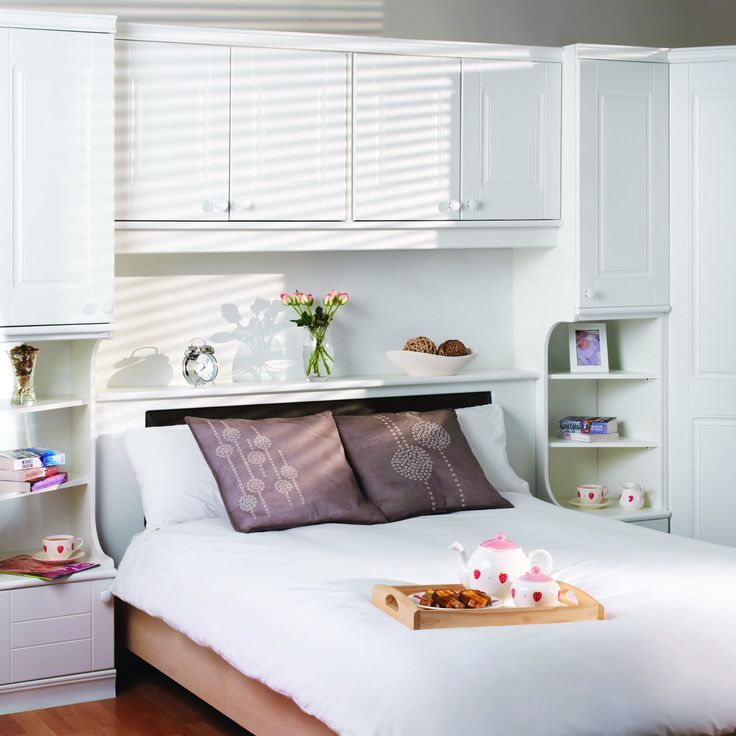77 Best Images About Guest Bedroom Over The Bed Storage