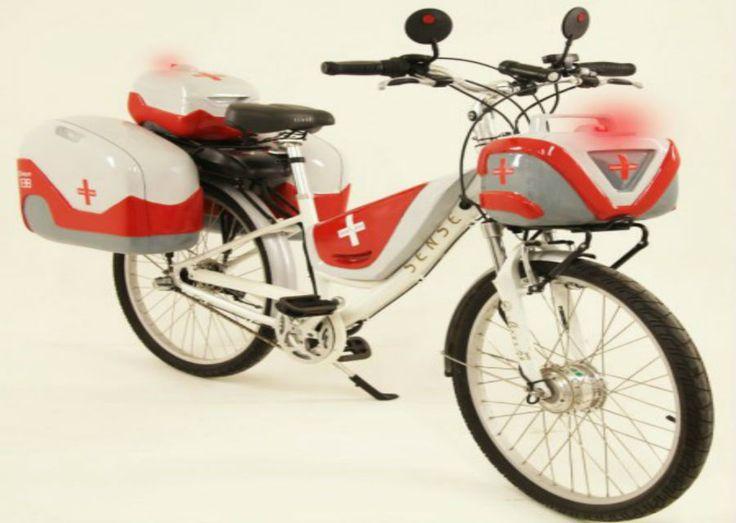Bicicleta-ambulância é opção mais ágil no resgate de acidentados | #Metrópole, #Paramédicos, #Resgate, #SalveBike