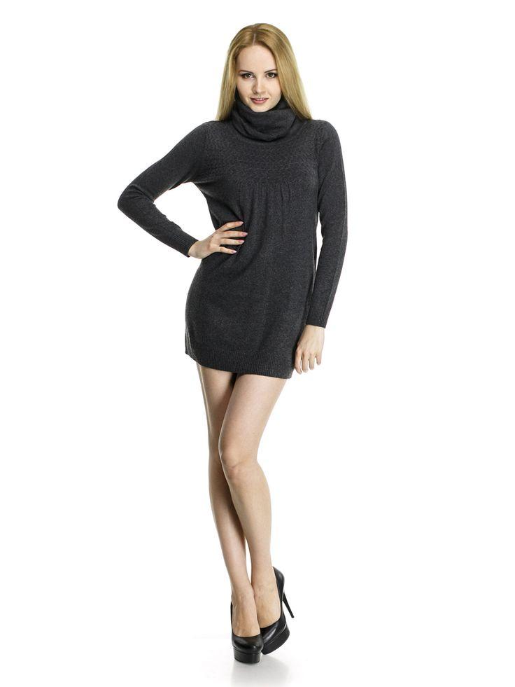 Платье-туника цвета гранита - Ebelieve, акция действует до 11 февраля 2014 года | LeBoutique - Коллекция брендовых вещей от Ebelieve
