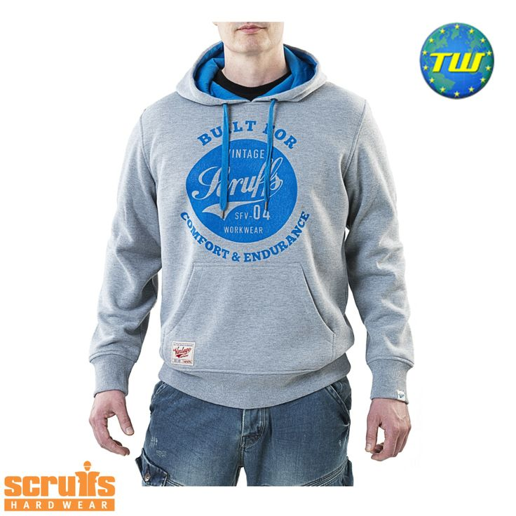 http://www.twwholesale.co.uk/product.php/section/10257/sn/Scruffs-Hoodie-T51321 Scruffs Vintage Hoodie is a pullover work hoodie made from robust poly-cotton materials.