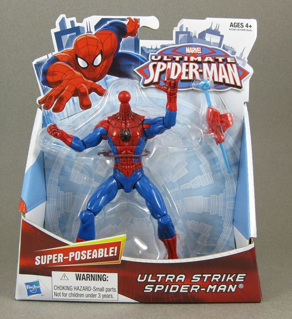 Jin Saotome's Five Minute Toy Review: Ultimate Spiderman 'Ultra ...