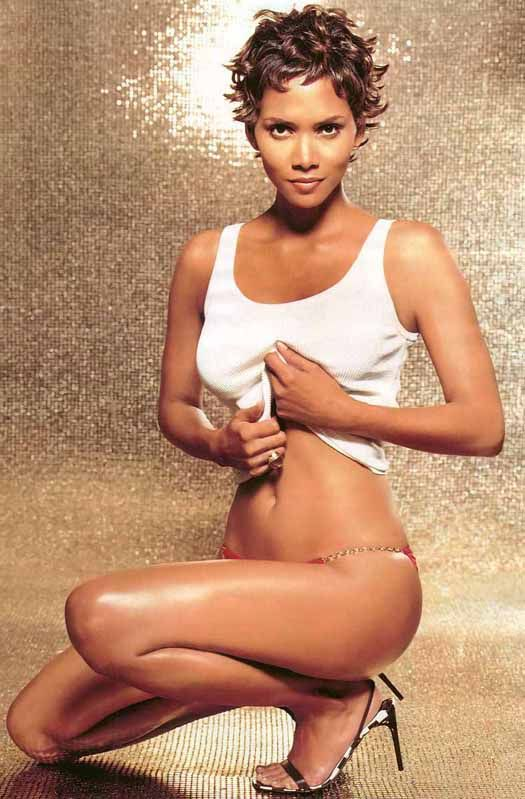 Young halle berry ass #9