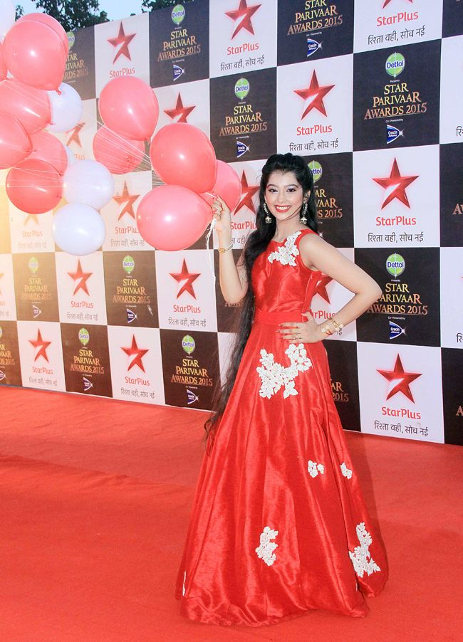 Digangana Suryavanshi at the 15th Star Parivaar Awards. #Bollywood #Fashion #Style #Beauty