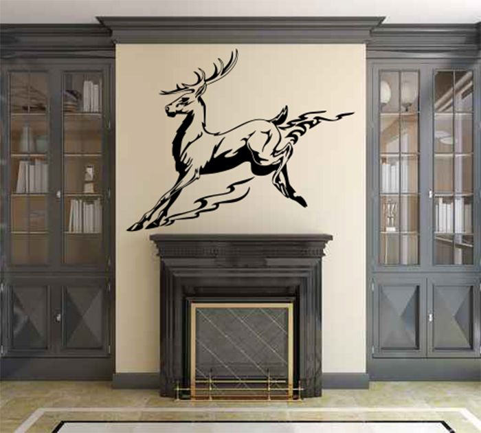 Best Deer Wall Decals Images On Pinterest Wall Decals Wall - Custom vinyl wall decals deer