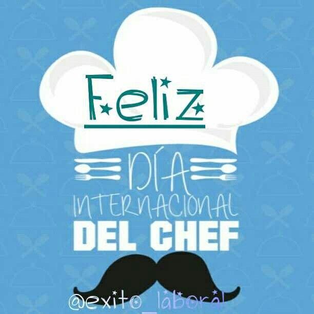 Feliz dia del chef  Hoy 20 de octubre se celebra el dia internacional del chef muchas felicidades.  #chef #food #diainternacionaldelchef #diadelcocinero #diadelchef