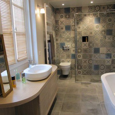 402 best H S H - F D F images on Pinterest Bathroom ideas