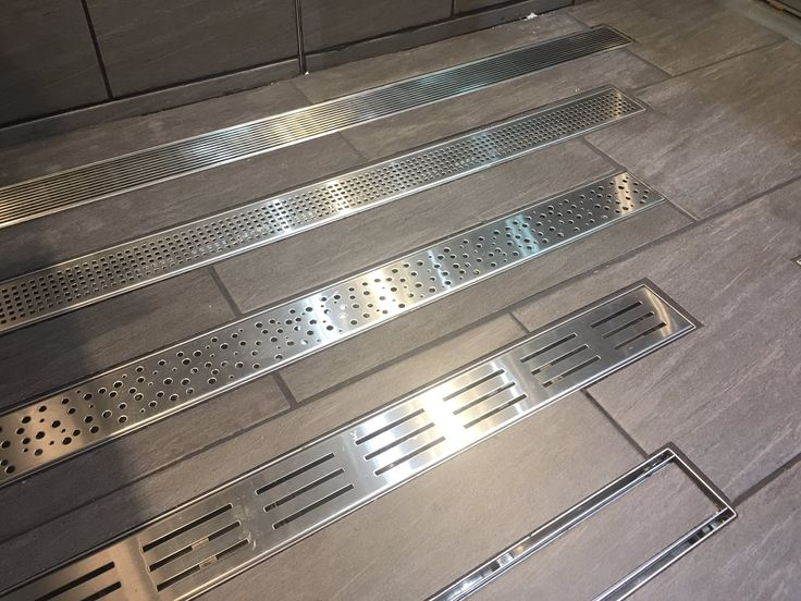 Shower drain covers from Zitta. #IDS17 #IDS2017 #bathroomdesign #shower