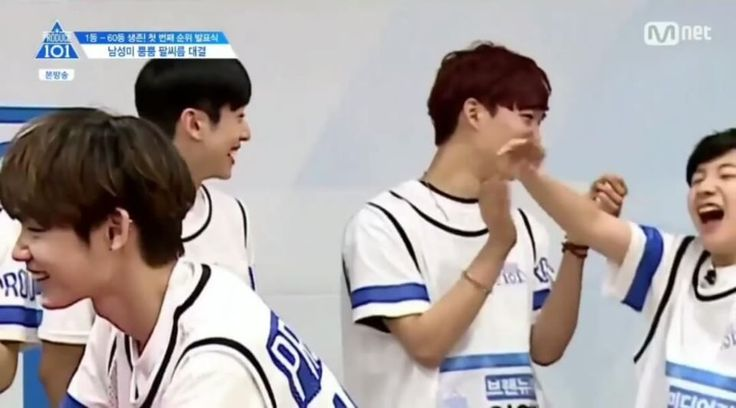 "Its so funny when Kenta said ""Itadakimasu"" (in japanese) and woojin act like he knows that word's meaning in korea but actually he didn't  Also trainee just find out that Kim Yong Guk is actually Chinese not Korean    Repost with credit on picture and caption or blocked ! #Produce101 #Produce101season2 #produce101boys #pd101 #mnet #프로듀스101 #kpop #케이팝 #kpopshoutout #pd101season2 #프로듀스101시즌2 #bigbang #twice #exo #bts #seventeen #nuest #ioi #pickme #엠넷 #kpopf4f #kpopl4l #l4l #f4f #아이오아이 #이우진…"
