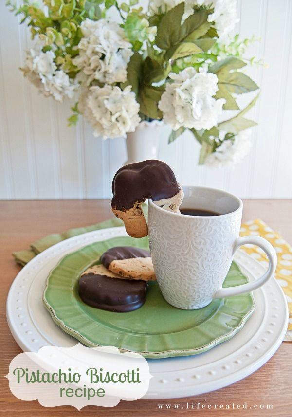 Yummy Pistachio biscotti recipe #cookies