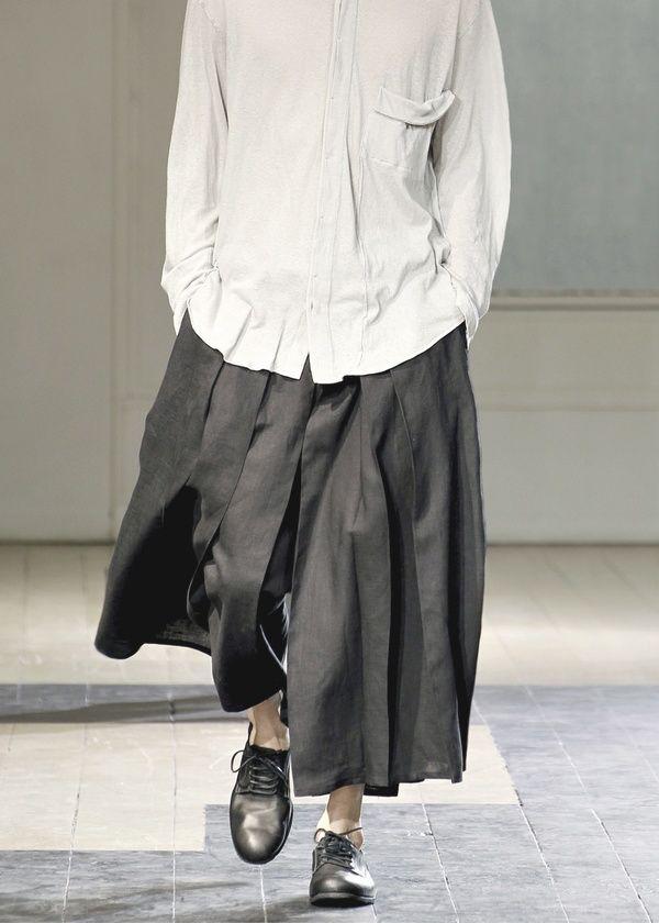 Yohji Yamamoto Menswear S/S 2012