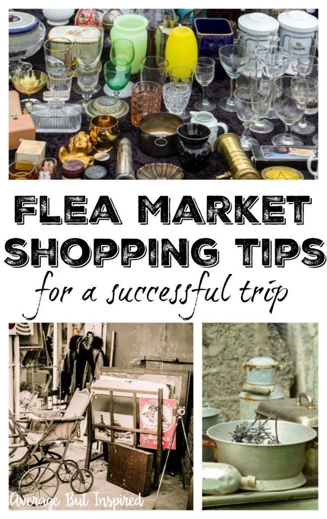 So helpful! This post has TEN great tips to help you make your flea market shopping experience the best it can be!