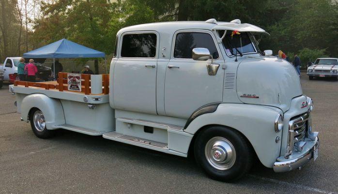 "1953 GMC COE "" Custom Crew- Cab"