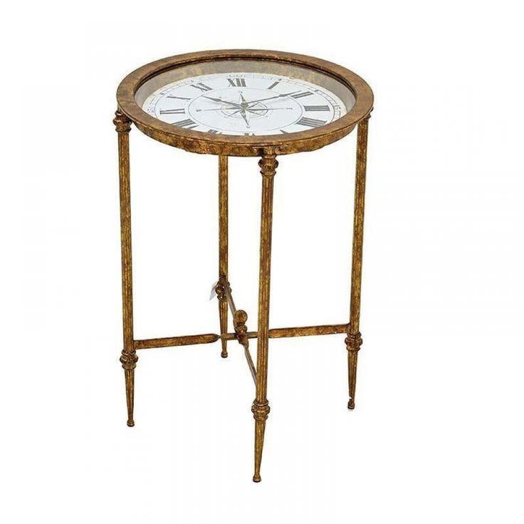 Ροτοντάκι ρολόι μπρονζέ Casa di Regali
