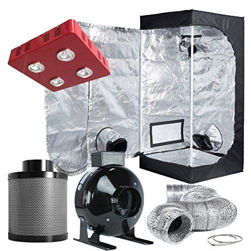 led grow tent kit home depot