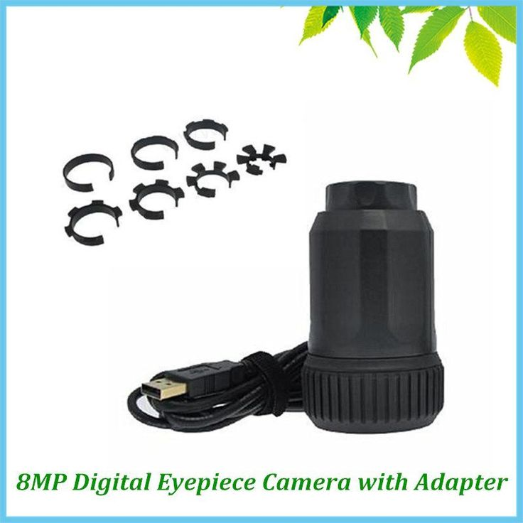 Microscope Telescope Portable Auto Focus 8.0 MP CMOS Electronic Eyepiece USB Digital Industrial Eyepiece Camera with Adapter //Price: $148.92//     #shopping