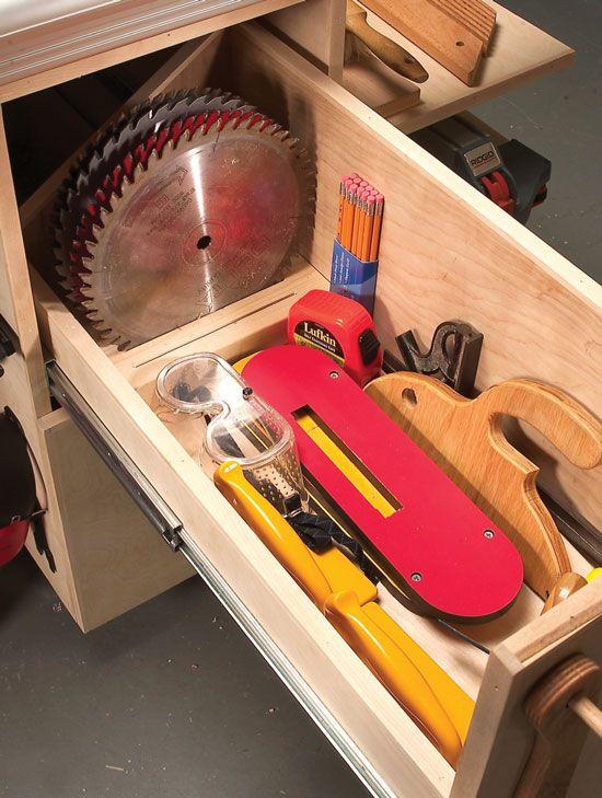 Perfect Saw Blade Storage  By EAGLE  LumberJockscom