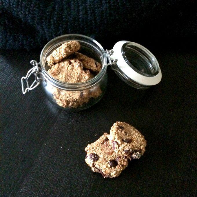 Pompoen havermout koekjes