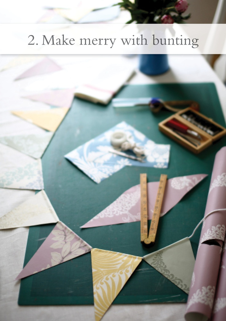 Make merry with bunting!