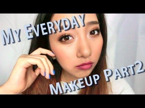 毎日のメイク/My Everyday Makeup Part2 - YouTube