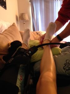 ACL Surgery - Post-Surgery Experience, Day 1. Blog about what to expect how to prepare, speed up recovery, etc.