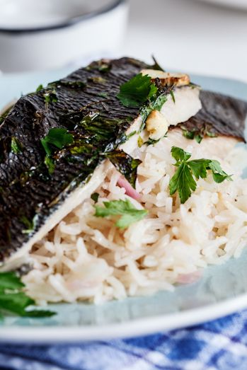 14 best simply delicious fish seafood images on for Lemon fish recipe