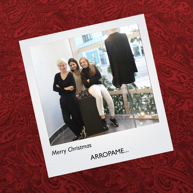 Merry Christmas! #arropame #conceptstore #bilbao #MerryChristmas #FelizNavidad #love #ComingSoon http://arropame.com/felices-fiestas-desde-nuestra-concept-store/