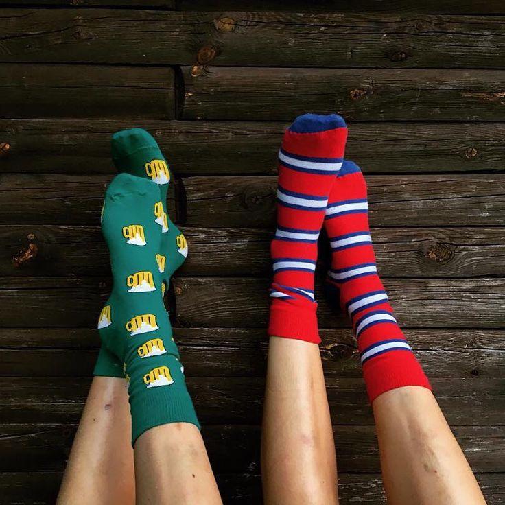 Socks for luck🍀