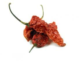 Chile, Ghost Pepper (Bhut Jolokia), Whole - Buy Spices Online | Savory Spice Shop