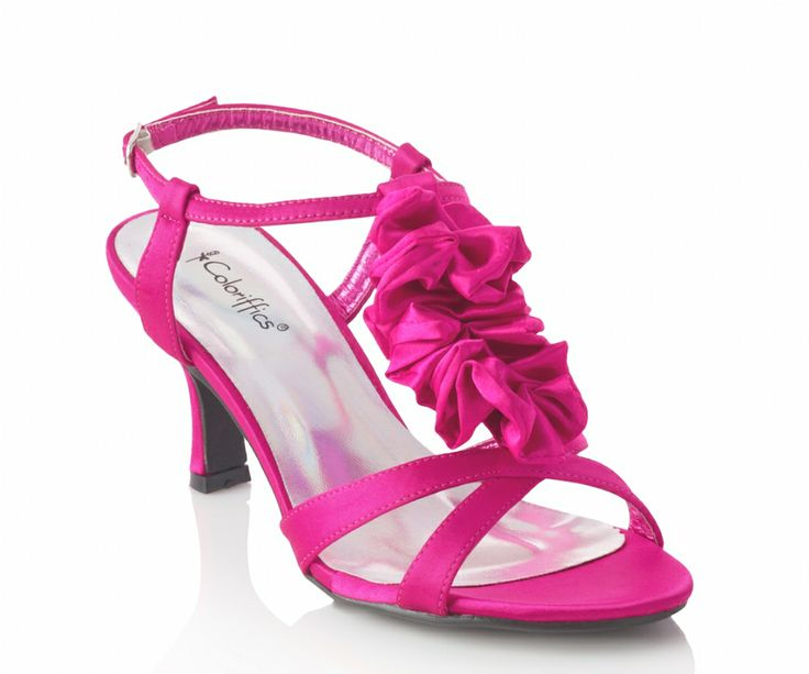 Pink Wedding Shoes Low Heel: 55 Best Images About Coloriffics On Pinterest