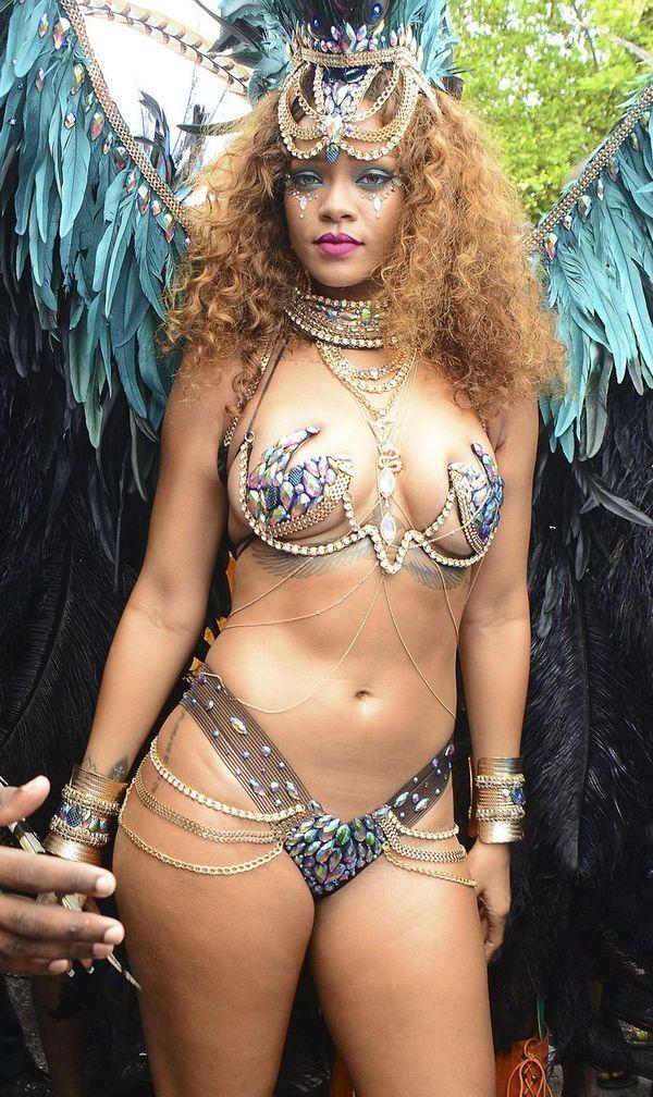 Rihanna Fashion Show