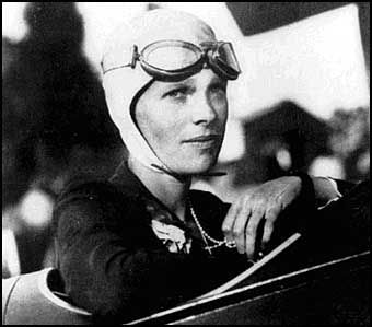 Amelia Mary Earhart July 24, 1897~disappeared 1937