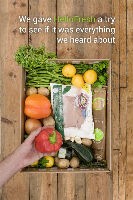 With all the fresh food delivery meal plan services out there, are some better than others? We tried HelloFresh to figure out what happens when you get one of these boxes delivered to your door.