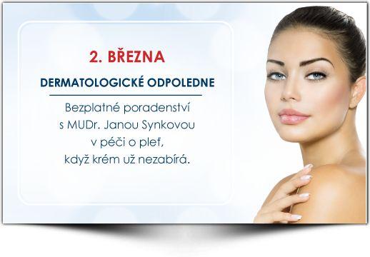Dermatologické odpoledne s MUDr. Janou Synkovou - Medical Institut
