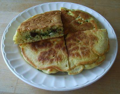 Vegatopia - Panbrood met feta en olijven