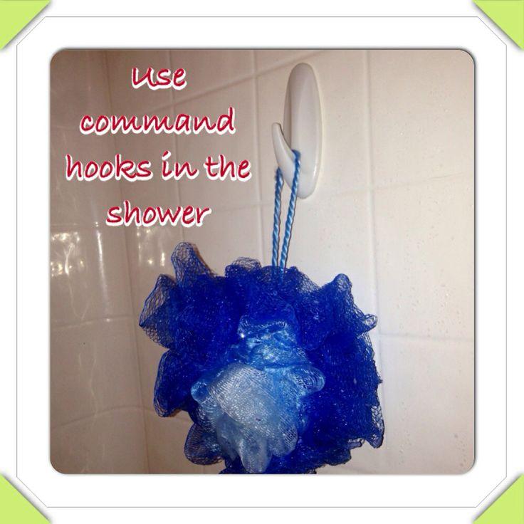 Command Hooks For Bathroom Organization