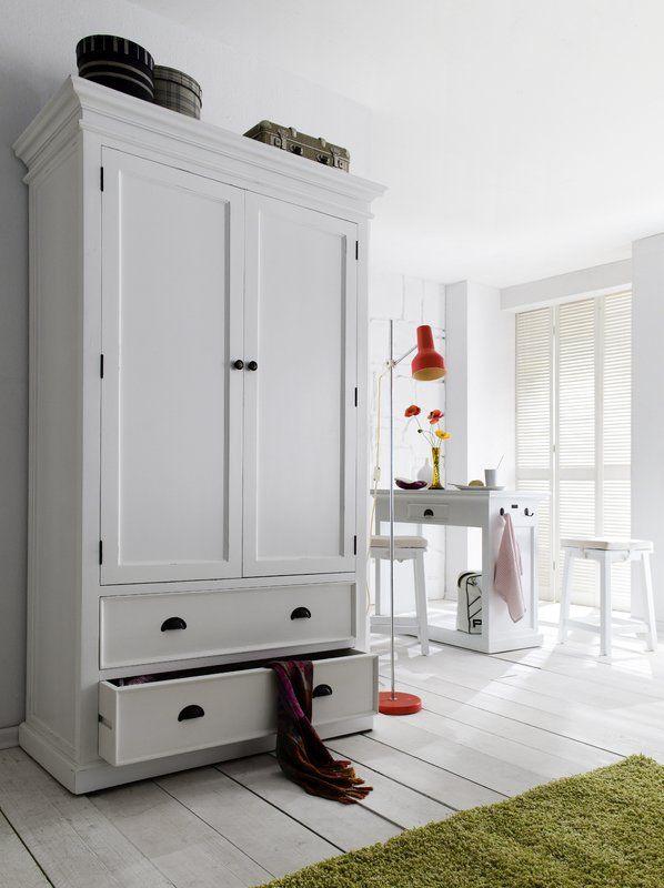 Sroda Armoire Wood Storage Cabinets Double Wardrobe Wardrobe Drawers