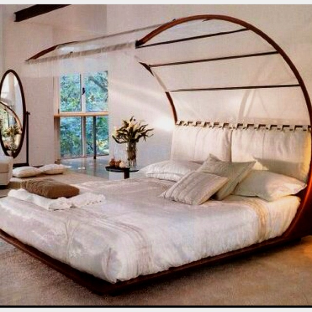 weird bed but also kinda cool bedrooms pinterest