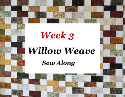 Aunt Reen's Place: Jelly Roll Sew Along Week 3