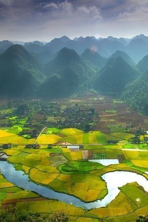 Bacson Vally, Wietnam od Cindy