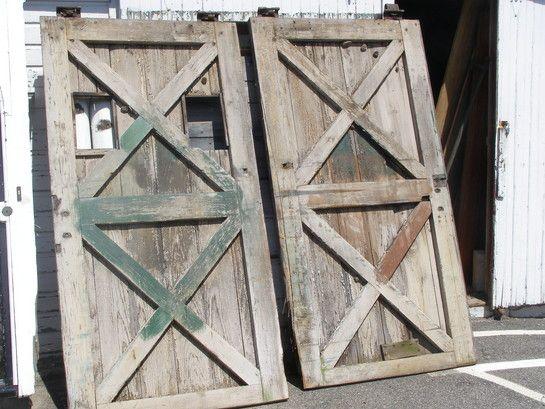 antique barn doors. paint them bright orange. :) - 36 Best Barn Doors Images On Pinterest Barn Doors, Antique Doors